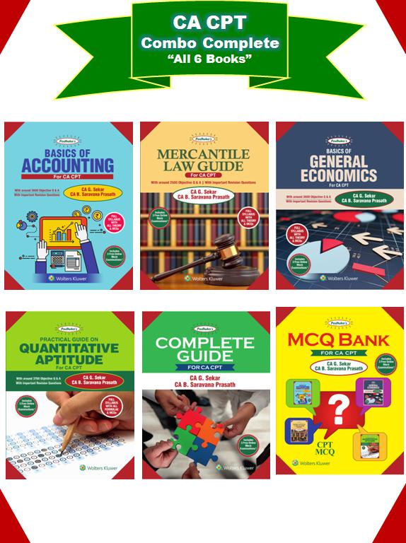 Shree Guru Kripa :: CA books Online- Books For CA CPT, CA
